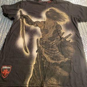 Affliction Red Label Premium Samurai Warrior Men S